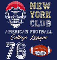 Football sport typography t-shirt graphics vector
