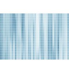 Blue tile background vector image vector image