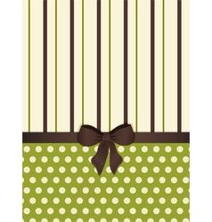 Modern decorative background vector image