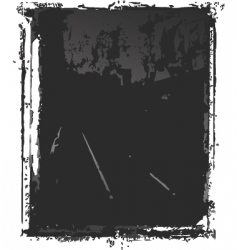 grunge film vector image vector image