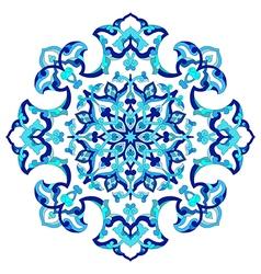 Artistic ottoman pattern series eighty seven vector