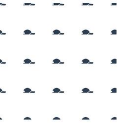 Baseball cap icon pattern seamless white vector
