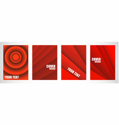 bright abstract covers set striples with overlay vector image