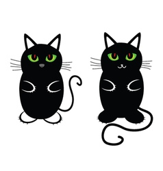funny and sweet cat vector image