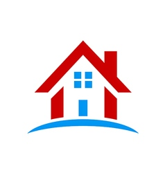 House icon construction rologo vector