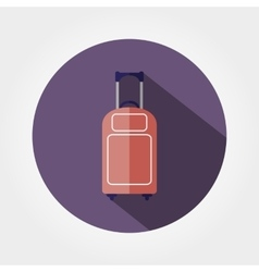 Luggage icon vector image