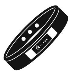 Nfc bracelet icon simple style vector