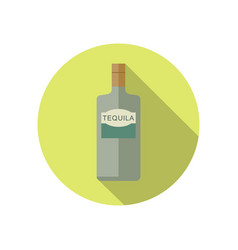 Tequila icon in flat style vector