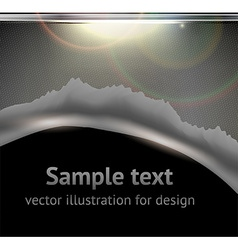 Torn Metal Graphic vector image