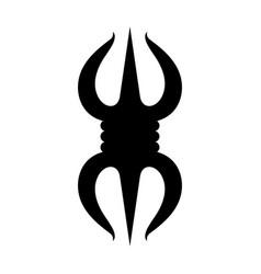 Vajra symbol vector