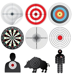 Set of targets and dummies vector