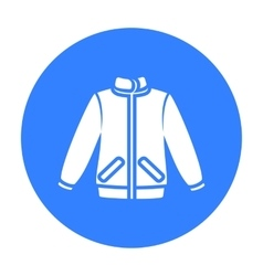 Jacket icon of for web and vector