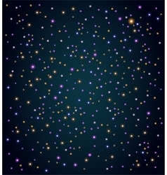 Sky with stars vector image