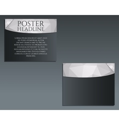 Business poster brochure and flyer design vector