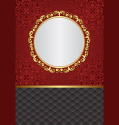 Decorative background with old-fashioned patterns vector