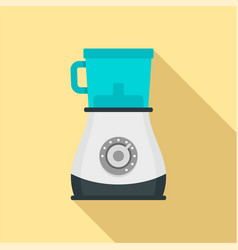 modern blender icon flat style vector image
