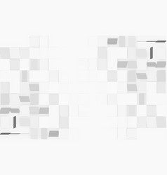 modern white rectangle texture background on left vector image