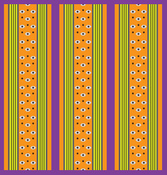 retro colored pattern with stripes vector image