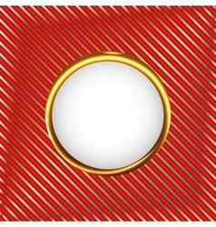 Royal circle frame vector