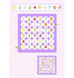 Fun brain games for kids vector image