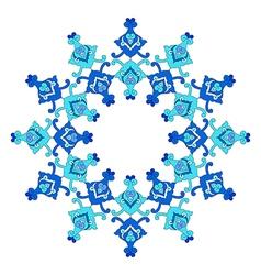 Artistic ottoman pattern series eighty three vector