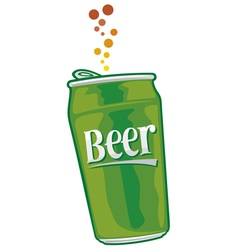 beer can vector image vector image