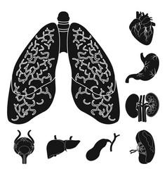 body and human logo vector image