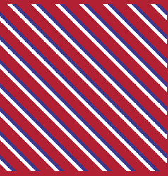 independence day seamless diagonal pattern vector image