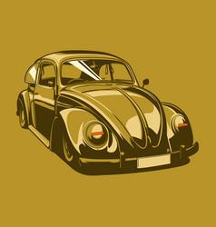vintage car 07 vector image