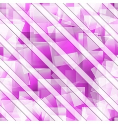 Abstract seamless square background vector image vector image