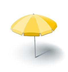 beach sunshade vector image