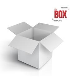 Realistic Open Box EPS10 Paper Box vector image