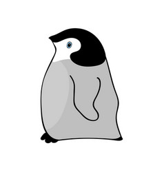penguin cute animal funny cartoon vector image vector image