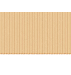 cardboard corrugated sheet realistic vector image