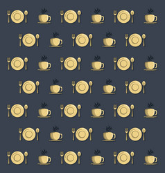Food and restaurant background vector