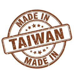 Made in taiwan vector