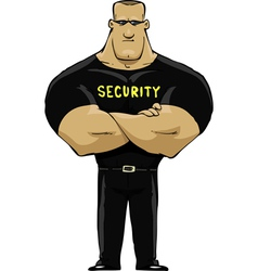 Man security vector