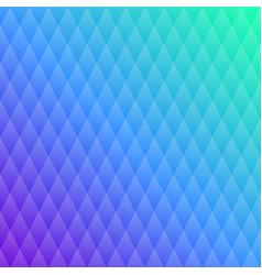 pattern blue crystal transparent rhombuses vector image