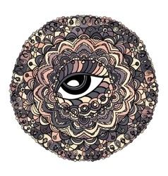Mystical Mandala vector image vector image