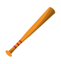 bat baseball equipment play vector image