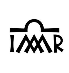 christian monogram of the virgin mary madonna vector image