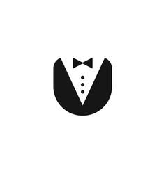 Butler uniform icon vector