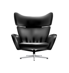chair office vector image
