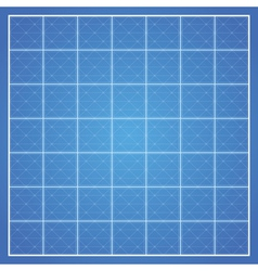 Checked blueprint background vector