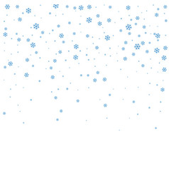 christmas winter white background vector image