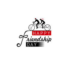 International friendship day vector