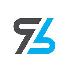 letter z logo design icon vector image