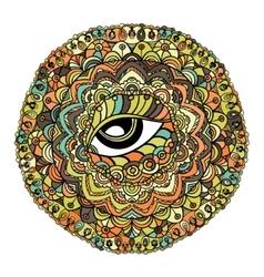 Mystical Mandala vector image