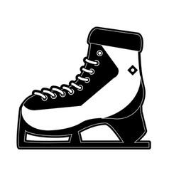 winter sport icon image vector image vector image