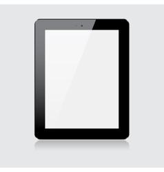 Black tablet vector